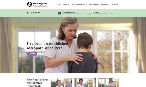 Sharon Quilter – Registered Osteopath